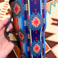 Aztec Navajo Print Cup Sleeve / Holder / fits 30oz cup