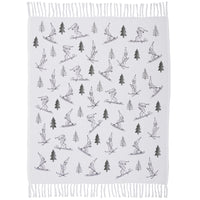 Ski Valley Woven Throw Blanket
