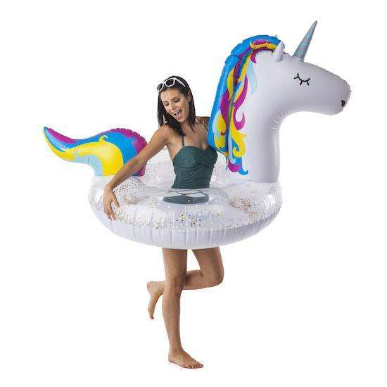 The Branson Giant Unicorn Pool Float - BIGMOUTHINC.
