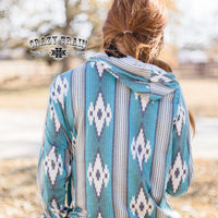 The Lynville Train Aztec Hoodie