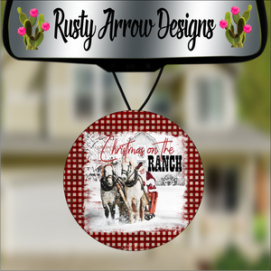 Christmas On The Ranch Air Freshener