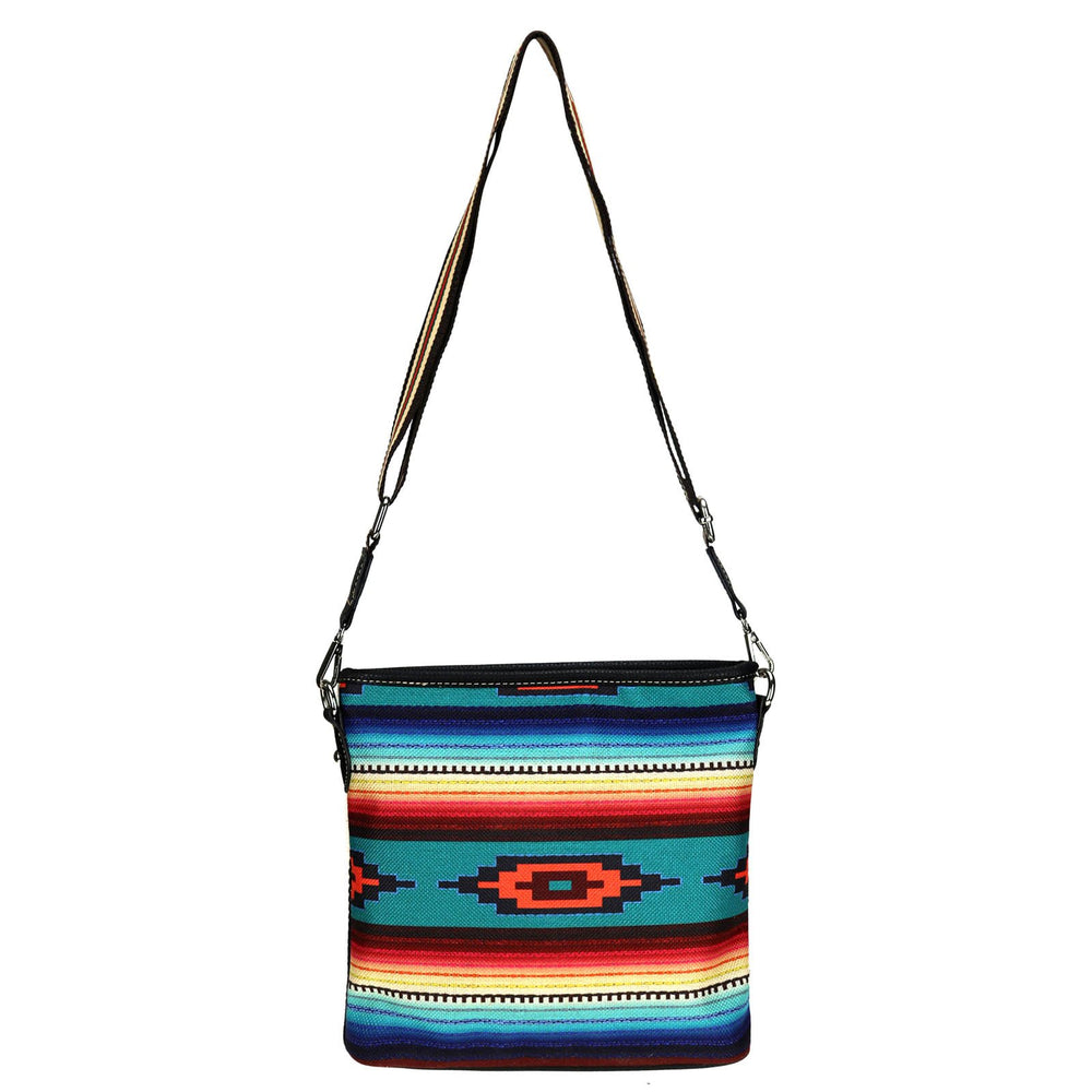 Waltz Across Texas Crossbody Serape Aztec Purse