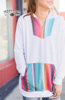 The Angel From Montgomery Serape Hoodie