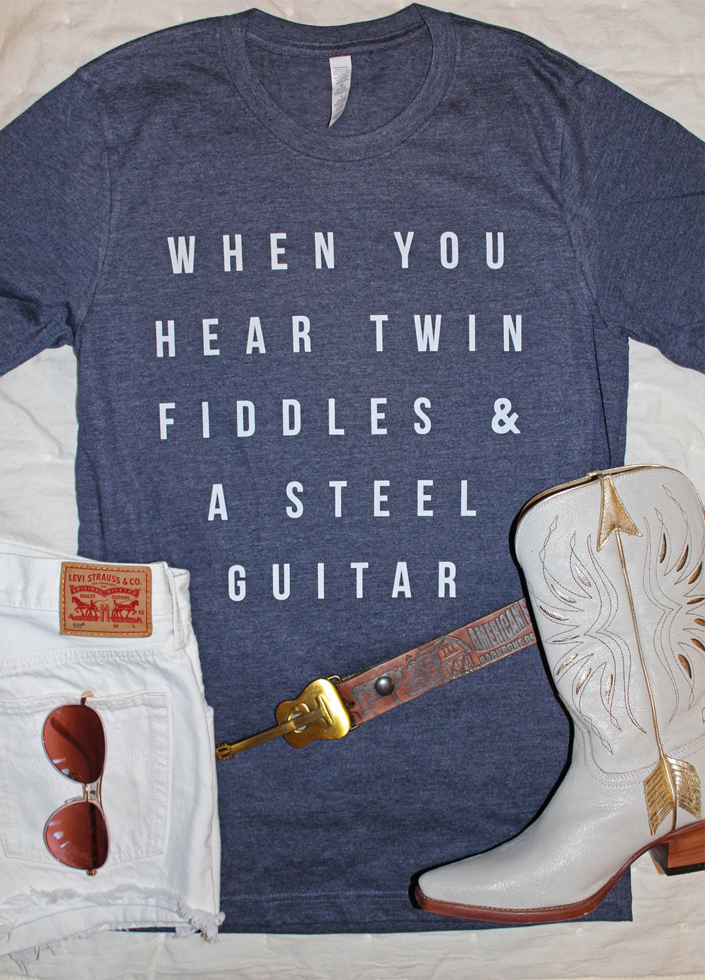 The Twin Fiddles Graphic Tee