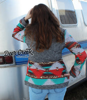 The Good 'Ol Days Serape + Aztec Jacket