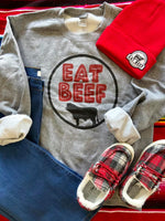 The Meat Wagon Eat Beef Sweatshirt