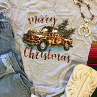 The Christmas Pickup Truck Graphic Tee (Ships in 7-10 Days)