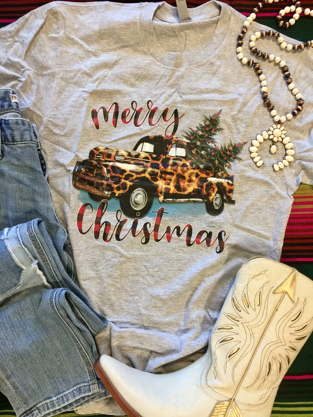 The Christmas Pickup Truck Graphic Tee (Ships in 2-4 Days)
