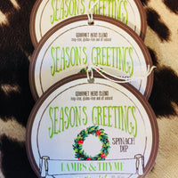 Lambs & Thyme Seasonings Greetings Spinach Dip Mix