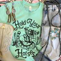 The Grover Hold Your Horses Western Graphic Tee