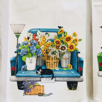 Summer Pickup Truck Tea Towel - MLT