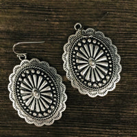 The Spartan Concho Earrings