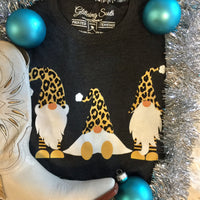 The Leopard Print Gnome Graphic Tee