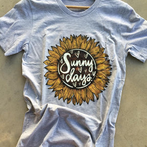 The Scottsdale Sunny Days Sunflower Graphic Tee