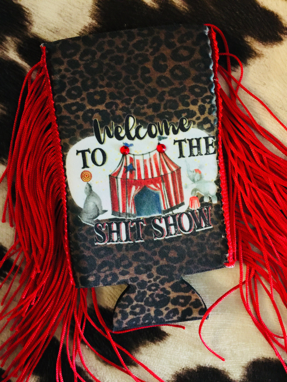 The S*it Show Ringmaster Can Cooler With Fringe