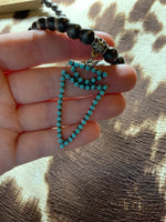 Arrowhead + Turquoise Necklace