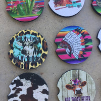 The Panhandle Car Coasters