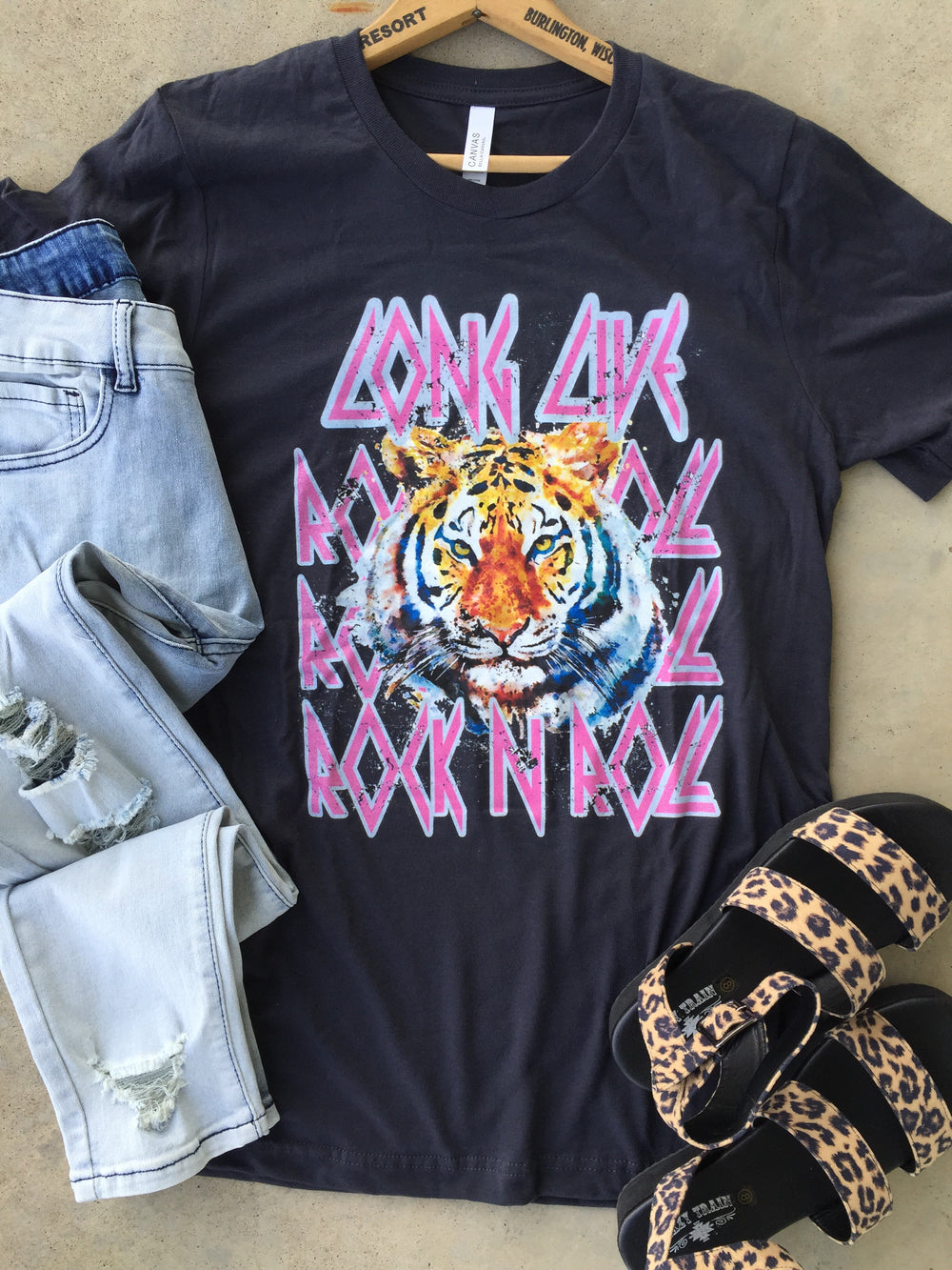 The Texhoma Rock & Roll Tiger Graphic Tee