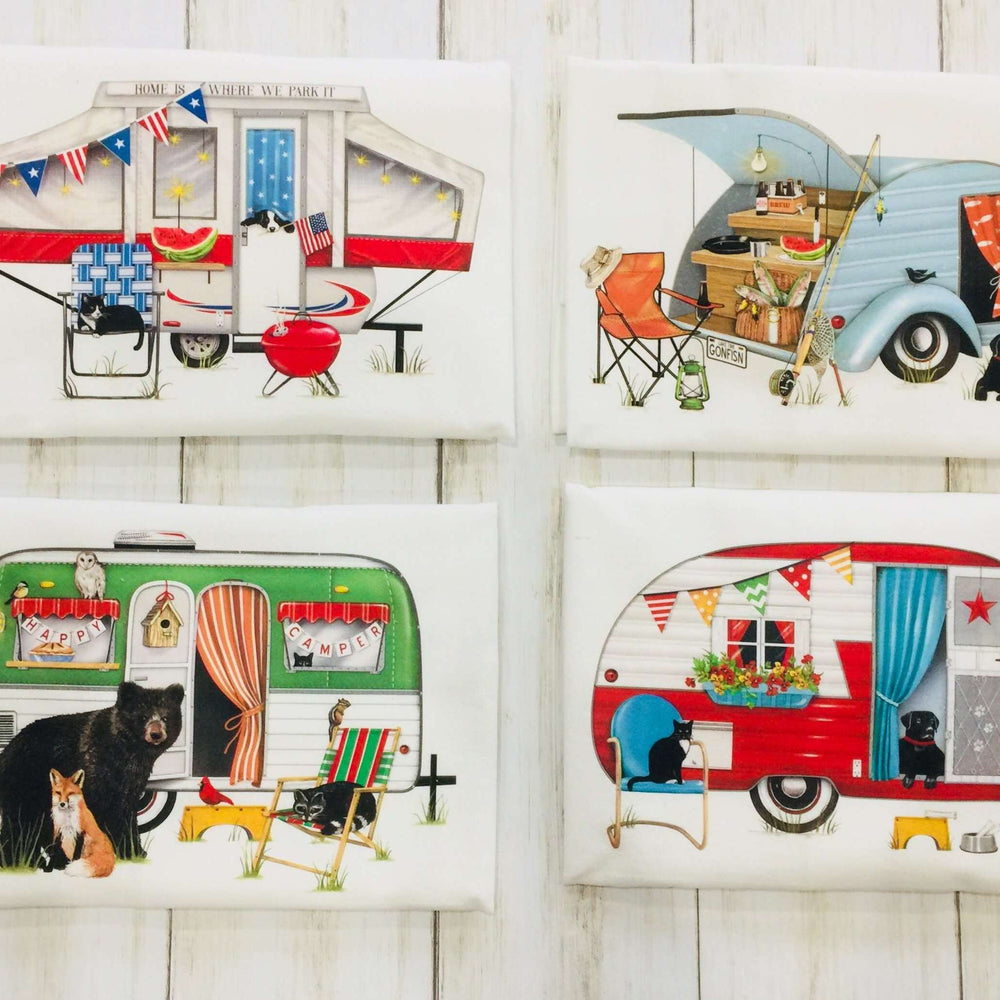 Camper Tea Towel - MLT