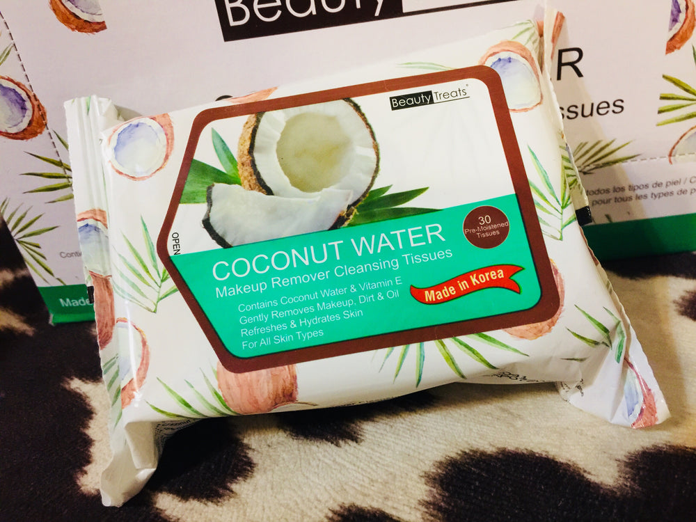 Coconut Makeup Remover Tissues
