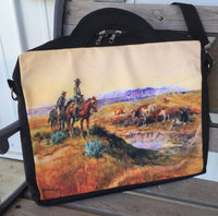 The Goodlett Cowboy Laptop Carrying Bag