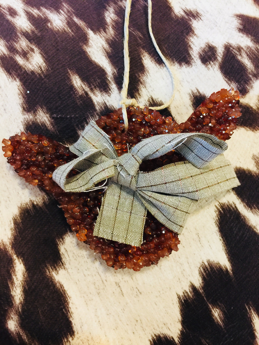 Fall Air Freshener (Car Scents) - Cow Shape