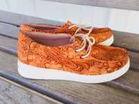 The Talco Tooled Leather Print Sneaker