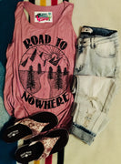 The Dalhart Road To Nowhere Graphic Tank Top