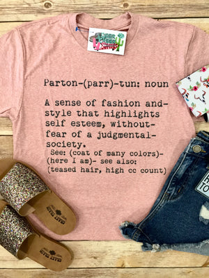 Dolly Parton Definition Graphic Tee