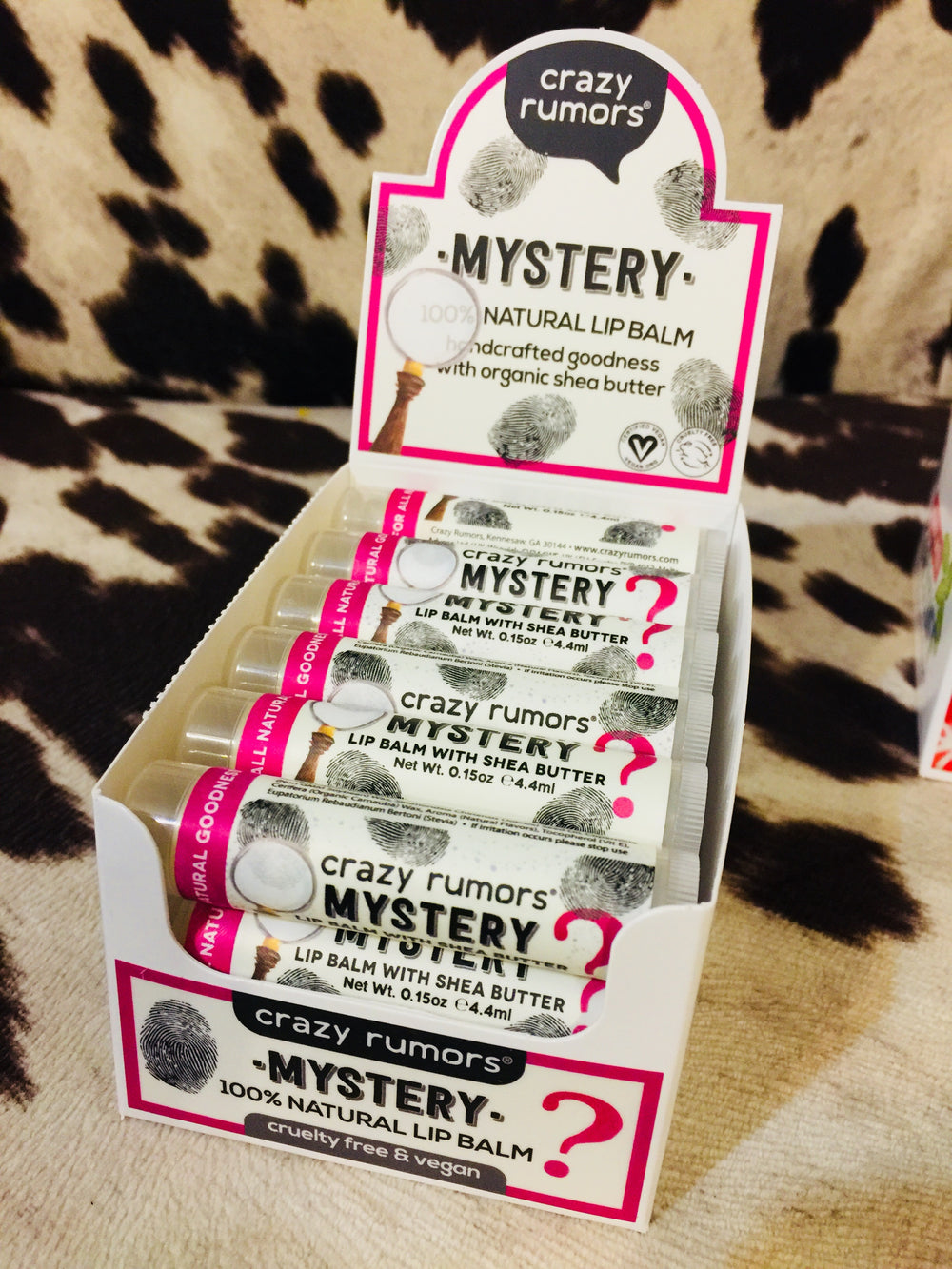 Crazy Rumors Mystery Lip Balm