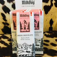 MilkBoy Dark Chocolate 85% Cocoa Chocolate Bar