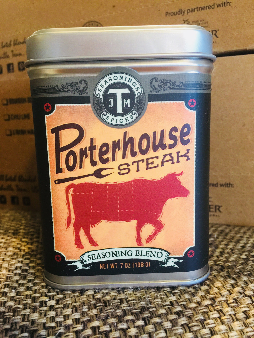 Porterhouse Steak Seasoning Spice Blend (J M Thomason)