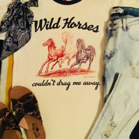 The Follett Wild Horses Graphic Tee