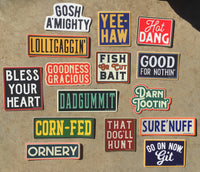 Mystery Southern Sayings Sticker Bundle