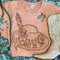 The Bicknell 'Can't Be Tamed' Western Graphic Tee