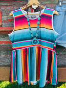 The Freeport Serape Tank Top