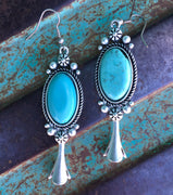 The Roland Fancy Turquoise Earrings