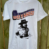 Waylon Jennings Outlaw Graphic Tee - Licensed
