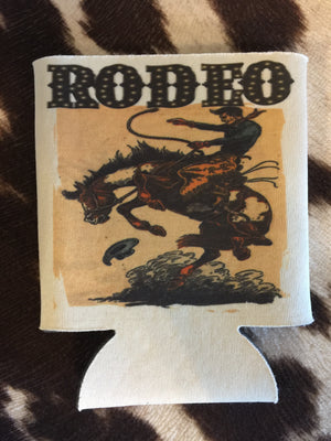 The Raton Rodeo Can Cooler