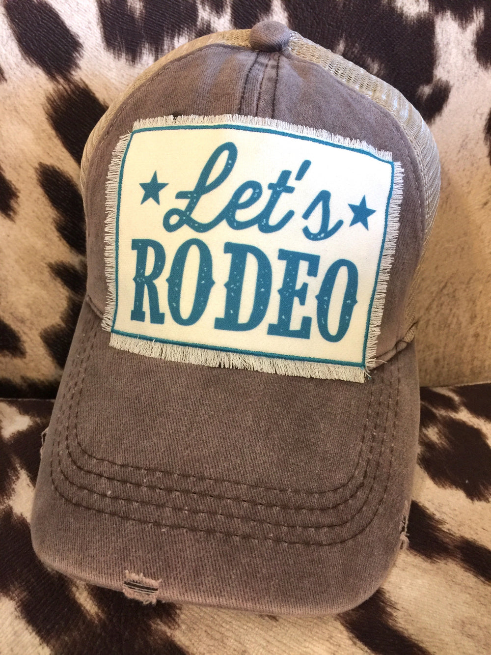 The Big Bend Let's Rodeo Ball Cap