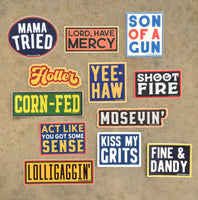 Southern Sayings Sticker