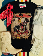 The Canadian Cowboy 'Howdy' Graphic Tee