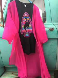 The Fort Worth Hot Pink Duster