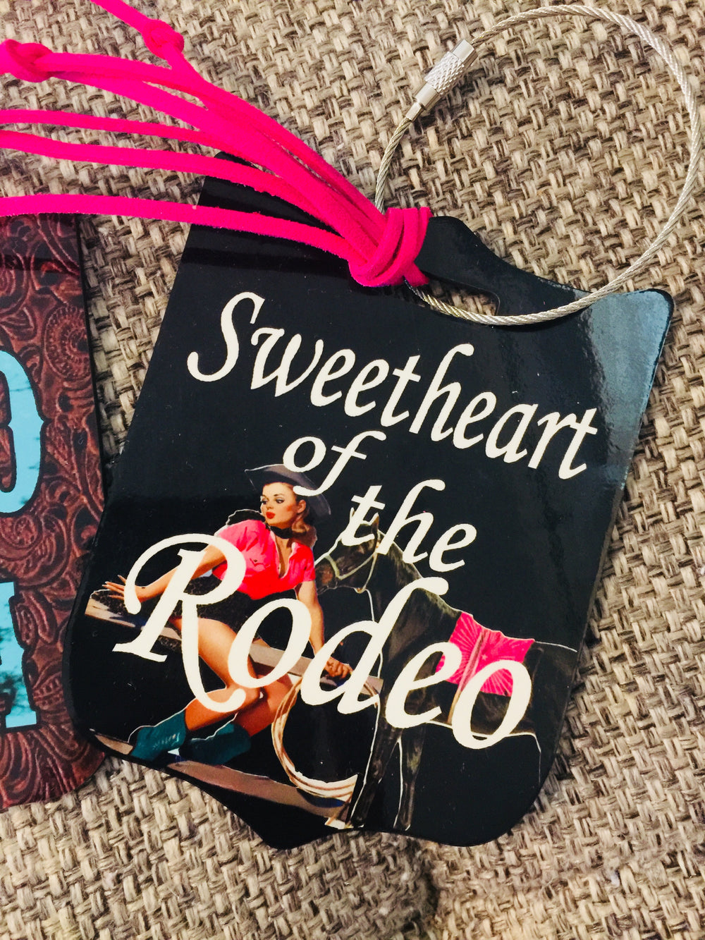 The Winslow Rodeo Sweetheart Luggage Tag