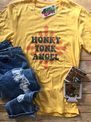 Honkytonk Angel Graphic Tee