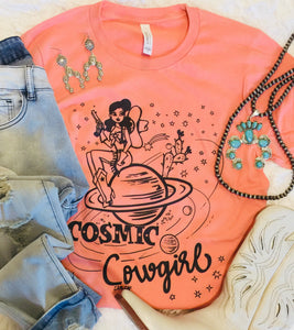 The Loa Cosmic Cowgirl Graphic Tee
