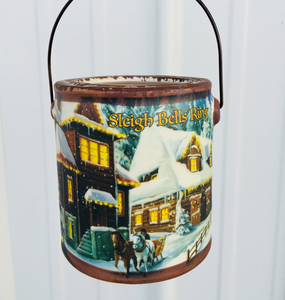 20oz Sleigh Bells Ring Farm Fresh Candle - Banana Nut Bread