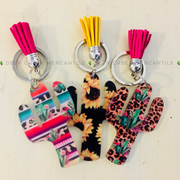 THE SALIDA CACTUS KEYCHAIN WITH TASSEL
