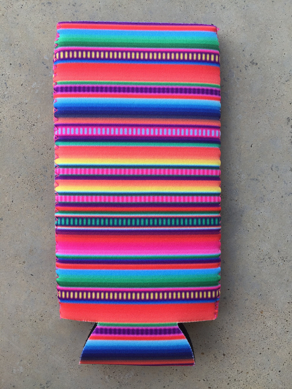 The Royal Bay Slim Can Cooler (Serape)