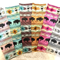 The La Joya Buffalo Tribal Print Bandana (Wild Rag)